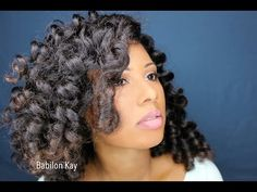 Perm Rod Set Tutorial - http://community.blackhairinformation.com/video-gallery/relaxed-hair-videos/perm-rod-set-tutorial/