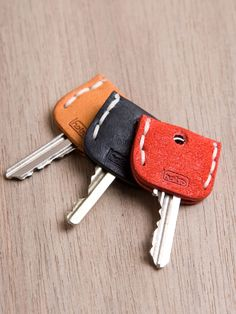 Keys leather cozies also a good idea