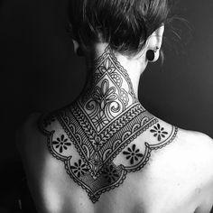 Gorgeous Ornamental Ink by Ellemental Tattoos