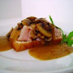 Open Faced Roast Turkey Sandwiches