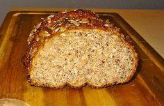 Chefkoch.de Rezept: Low-Carb Brot mit Sonnenblumenkernen