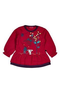Super seje Me Too Tunika Aletta mini  Cerise Me Too Skjorter & tunika til Børn & teenager til hverdag og til fest
