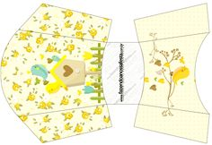 LARGE SET--- http://fazendoanossafesta.com.br/2015/05/jardim-encantado-amarelo-provencal-kit-festa-infantil.html/