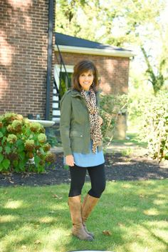 Fall fashion casual style for women over 40.