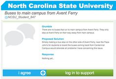 NC State student?  Click the grumble to comment within our site!