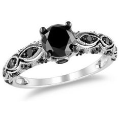 Black diamond ring. OMG. Please!