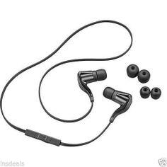 Plantronics BackBeat GO Bluetooth Wireless Stereo Black Headset 86800-01