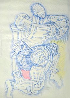 Ink on paper - art drawing - Augusto Zerbi - www.augustozerbi.com