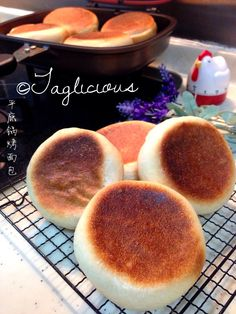 TAGlicious: Chicken Potatoes Buns using HappyCall (平底锅烤面包)