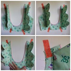 How to make and set in wings to a bodice free pattern and tutorial by sew chibi designs