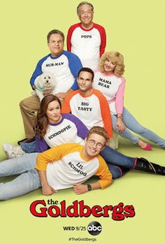 """movie poster image for """"The Goldbergs"""" The image measures 691 * 1024 pixels and is 82 kilobytes large. Free Hd Movies Online, Movies To Watch Free, Os Goldbergs, Funny Shows To Watch, Watch Live Tv Online, Comedy Tv Series, Tv Series 2016, The Bigbang Theory, First Tv"""