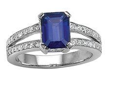 Sapphire Ring- my birthstone