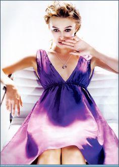Leira Knightley Elle october 2005