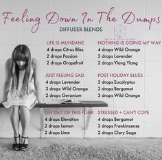 Doterra essential oil diffuser blends by Natalie Blackburne to help with stress,… - All About Health Helichrysum Essential Oil, Doterra Essential Oils, Essential Oils Anxiety, Doterra Blends, Essential Oil Diffuser Blends, Essential Oil Uses, Doterra Diffuser, Relaxing Essential Oil Blends, Essential Oils For Depression