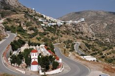 Karpathos in the Dodecanese islands of Greece is noted for its traditions, its music, and mountain villages like Olympos. Karpathos, Mountain Village, Greece Islands, Medieval Castle, Greece Travel, Greek, Country Roads, Places, Channel