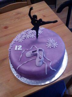 Ballet cake Ballet Cakes, Birthday Cake, Desserts, Food, Tailgate Desserts, Deserts, Birthday Cakes, Essen, Postres