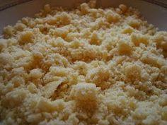 … idealna kruszonka powinna być krucha, lekko chrupiąca i oczywiście słodka. Jest ona nieodłącznym dodatkiem do ciasta drożdżowego, chałek,... Spices, Food And Drink, Sweets, Sugar, Baking, Cake, Ethnic Recipes, Roman, Pizza