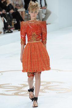Chanel Fall 2014 Couture Fashion Show - Maartje Verhoef (Women)