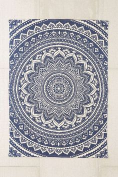 Plum & Bow Sahara Medallion Printed Rug from Urban Outfitters. Shop more products from Urban Outfitters on Wanelo. Wall Carpet, Rugs On Carpet, Mandala Rug, Urban Outfitters, Deco Boheme, Classic Rugs, Gold Rug, Textiles, Round Rugs