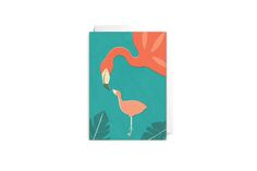#flamingo #newbaby #card #illustration #naomiwilkinson #design #present #gift #radstudio #saltaire   The perfect new mama card, showing off the talents of Naomi Wilkinson.