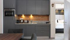 Kitchen - designer Suite one bedroom Two Bedroom, Apartment Design, Lodges, Kitchen Design, Kitchen Cabinets, Luxury, Mountain, Home Decor, Kaprun