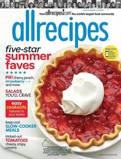 I love having recipes to be inspired by! With this #DailyDealByJillee, you can get a 1 year subscription to allrecipes for only $4.99!!