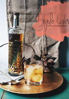 "Happy Hour: Apple Cider Rum Old Fashioned #oldfashioned www.LiquorList.com ""The Marketplace for Adults with Taste!"" @LiquorListcom  #LiquorList"
