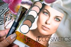 MY SCULPTED FACE IT COSMETICS CONTOUR PLATEE REVIEW SWATCHES