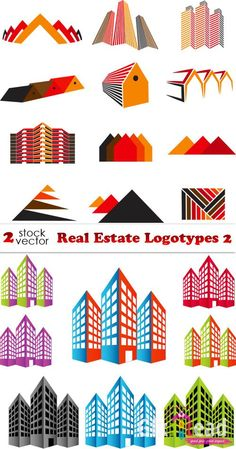 Ineractive  Real Estate Logos collection