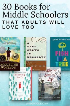 30 Books for Middle Schoolers that Adults Will Love, Too. Read these can't-miss middle grade books with your kids or tweens--perfect for a parent/child book club. Books For Tweens, Books For Boys, Kids Book Club, Good Book Club Books, Grade Books, Middle Schoolers, Fiction And Nonfiction, Popular Books, Book Recommendations