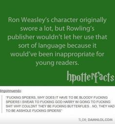 Harry Potter Facts With A Side Of Humor
