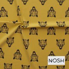 Tiger yellow - Hotstof - Online stoffen en juwelen - Stoffenwinkel