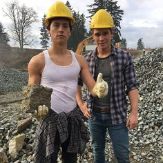 """archiecomics: """"Jughead and Archie are back at work after the long Thanksgiving weekend. #Riverdale """""""
