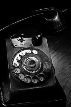 SPY TELEPHONE.  just a minute ... ok ... go ahead, tell it to me again. ~Repinned Via HE Brinkley