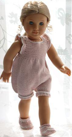 strikk dukkeklær med Sandnes garn