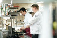 """Home is where great taste comes from"", Heribert Dietrich, Hotel Walserhof. World Economic Forum, Davos"