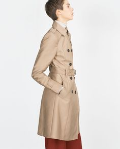 LONG TRENCH COAT-View all-Outerwear-WOMAN | ZARA France