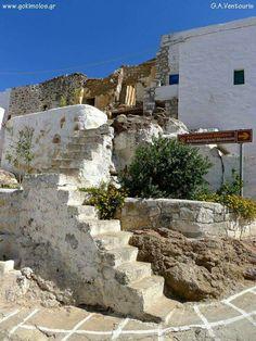 Κιμωλος Paros, Mount Rushmore, Mountains, Mansions, House Styles, Nature, Travel, Greece, Naturaleza