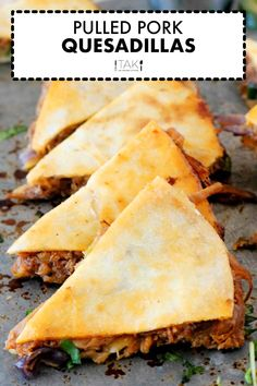BBQ Pulled Pork Quesadillas made with leftover pulled pork are quick and easy to make! Use it as a simple, kid-friendly dinner idea or a party appetizer to win over any crowd! They take only 20 minutes to make and come with all kinds of helpful tips for whipping up foolproof homemade quesadillas!