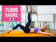 Floor Barre to Improve Technique and Shape your Ballerina Body - YouTube
