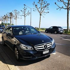Beautiful morning in Geneva today!☀️🌳😌 Our driver enjoyed the sunshine and the role of a photographer before taking the clients to Zurich😉 Mercedes E Class, Enjoy The Sunshine, Beautiful Morning, Zurich, Geneva, Instagram Posts