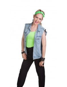 80's Borderline Green Outfit Best 80s Costumes, 80s Halloween Costumes, Cyndi Lauper Costume, 1970s Fancy Dress, Madonna Costume, 80s Outfit, 80s Fashion, Jackson, Fashion Accessories
