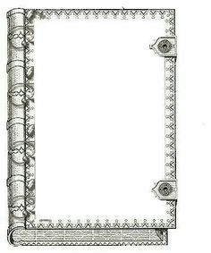 Borders For Paper, Borders And Frames, Book And Frame, Black And White Comics, Frame Background, Writing Paper, Border Design, Digi Stamps, Vintage Labels