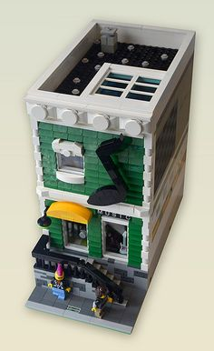 Awesome lego modular mocs!