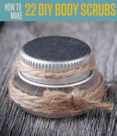 How to Make 22 DIY Body Scrubs | Clear your schedule for tonight and let the pampering begin! #DIYReady DIYReady.com