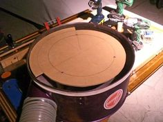 Adding a Thien Baffle to a Harbor Freight DC
