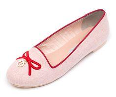 Pink Lenir Loafers - SHOES | LeBunny Bleu