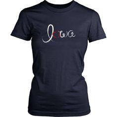 Heart Iowa Women's T-shirt
