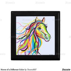 Horse of a Different Color Jewelry Boxes