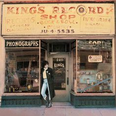 The Best Country Album Cover Artwork: 7. Rosanne Cash - King's Record Shop